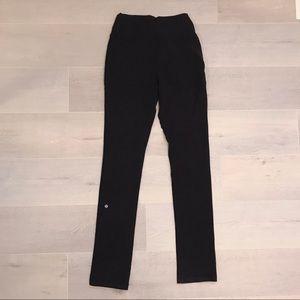 Lululemon adjustable black yoga pants